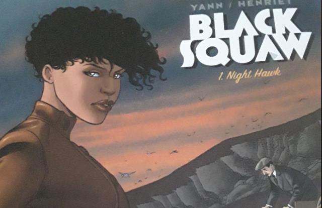 BD : Black squaw, à la fois noire, indienne et pilote d'avion