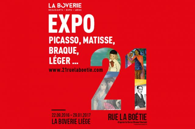 Beau succès pour l'exposition 21 rue La Boétie