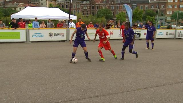 Belgian Homeless Cup: un tournoi de football pour les sans-abris