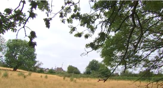 Beyne-Heusay : lotissement en site paysager de la Région Wallonne.