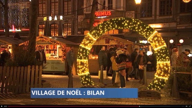 Bilan : Village de Noël
