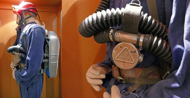 Blegny Mine : trois appareils respiratoires de Théodore Schwann classés comme «Trésors»