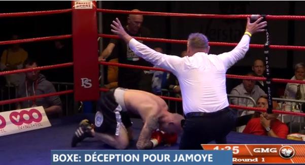 Boxe : énorme déception pour Steve Jamoye