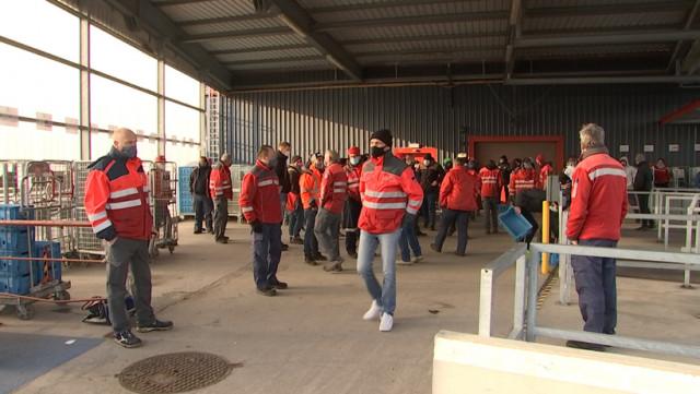 Bpost : la grève continue à l'antenne Liège rive gauche.