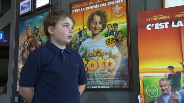 C'est Toto qui va au cinéma avec un Liégeois...