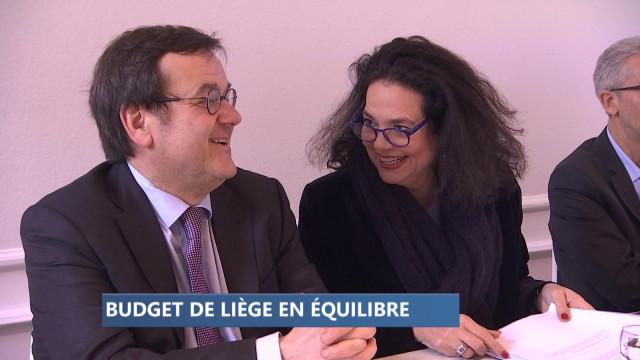 Cahier de modification budgétaire pour Liège