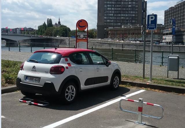 Cambio : 1000 réservations mensuelles à Liège  !