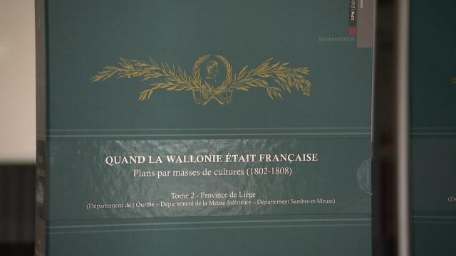 Cartes anciennes : les campagnes liégeoises sous Napoléon