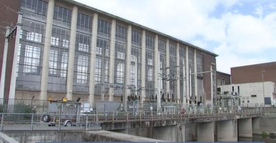 Centrale hydro-électrique de l'Ile Monsin : investissements et évacuation de déchets