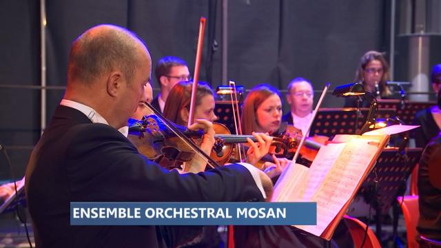 Champagne pour les 25 ans de l'Ensemble Orchestral Mosan