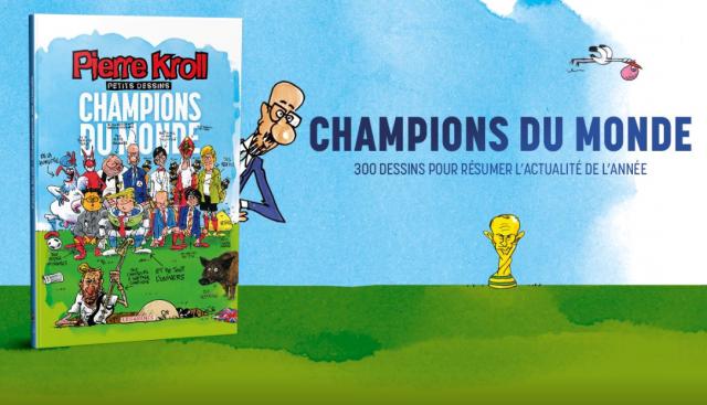 Champions du monde : le dernier album de Kroll