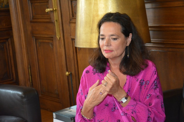Christine Defraigne candidate à la présidence du MR