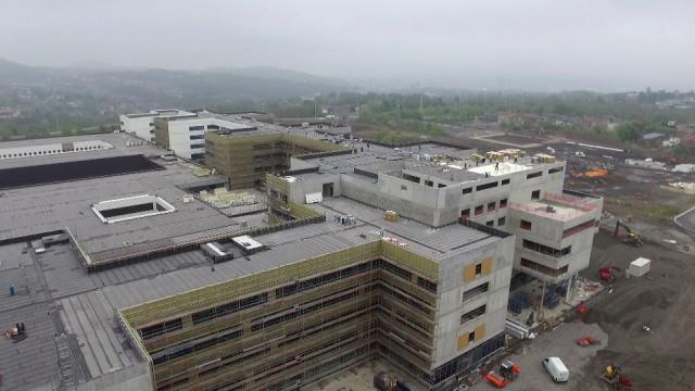Clinique du MontLégia, star des chantiers à visiter