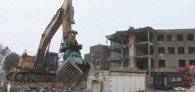 La Clinique Saint-Vincent est en train de disparaître
