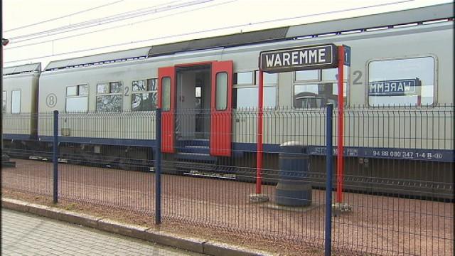 Colis suspect à la gare de Waremme, trafic interrompu plusieurs heures