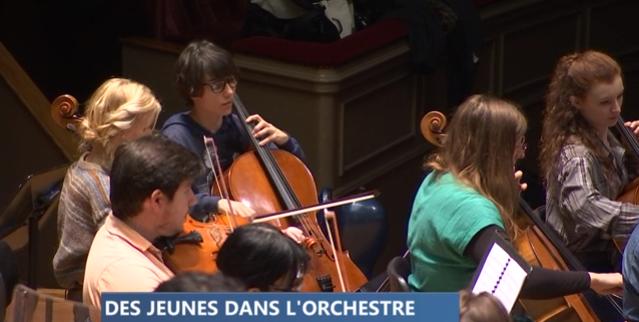 Concert de l'orchestre symphonique du Conservatoire Royal de Liège