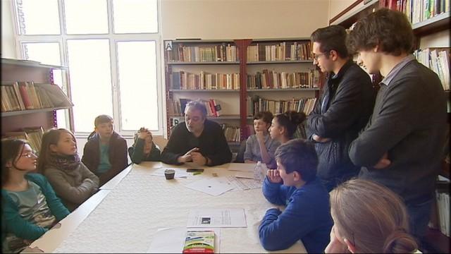 Concilier art et résistance, au lycée de Waha