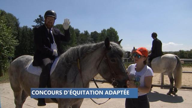 Concours d'équitation adaptée chez Hippopassion