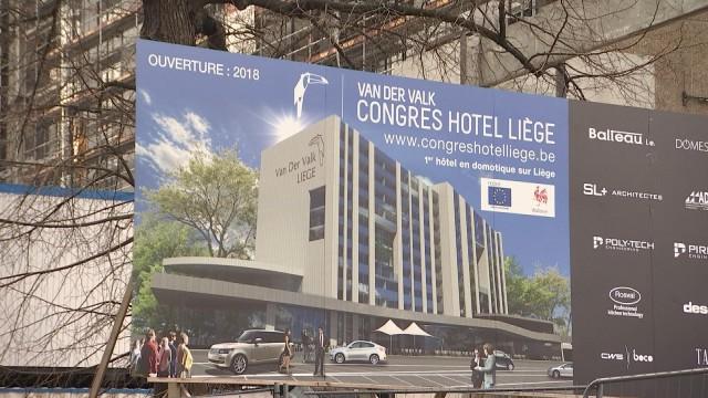 Congrès Hôtel Liège : un chantier en plein ébullition