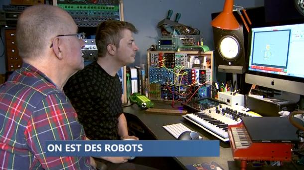 """Conte musical """"On est des robots"""""""