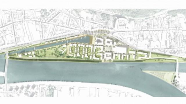 Coronmeuse : un éco-quartier de 1325 logements.