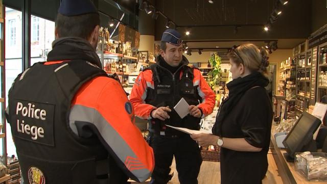 Coronavirus : la police veille à la fermeture des commerces