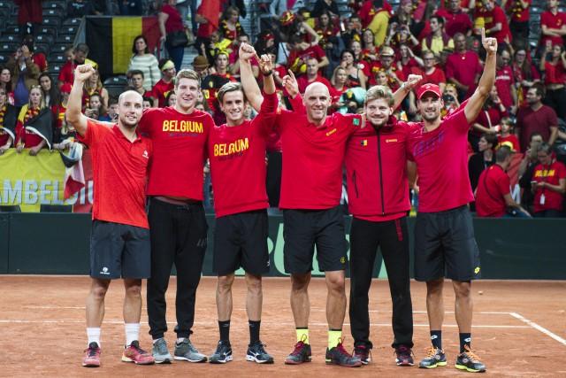 Coupe Davis : la finale France - Belgique disputée à Lille