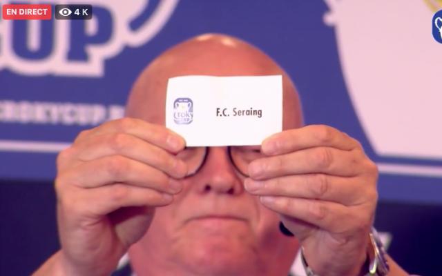 Coupe de Belgique : Seraing hérite d'une équipe de D1 !