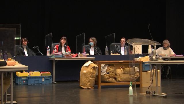 Cour d'assises délocalisée au Palais des Congrès