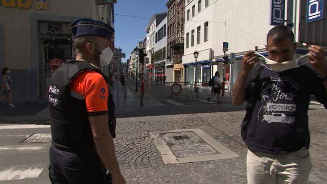 Covid 19 : la police de Liège en mode répression...