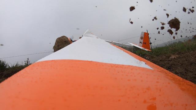 Crash d'un planeur à Anthisnes (vidéo)