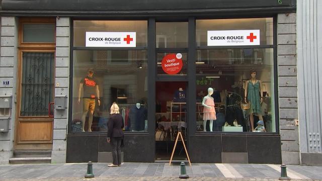 Croix-Rouge : une nouvelle vestiboutique à Liège