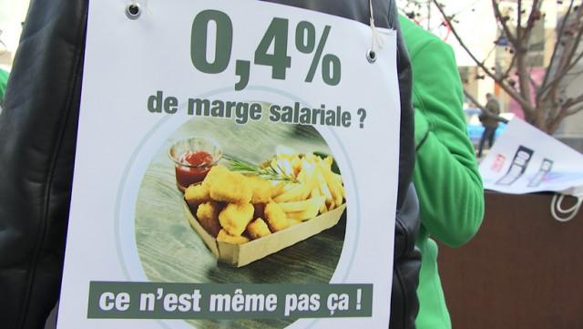 CSC : « 0,4% de marge salariale ? C'est des peanuts ! »