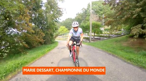 Cyclisme: Marie Dessart, championne du monde
