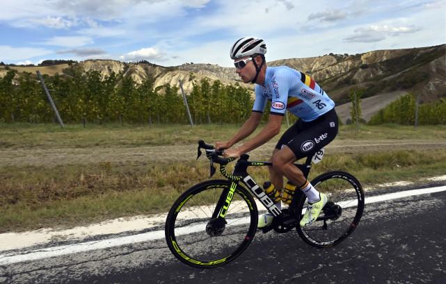 Cyclisme : un premier championnat du monde Elites pour Loïc Vliegen
