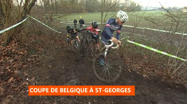 Cyclo-cross : coupe de Belgique à Saint-Georges