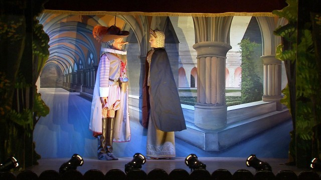 Cyrano et Tchantchès ensemble pour les fêtes du 15 août.