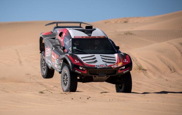 Dakar: excellent début pour le copilote liégeois Fabian Lurquin!