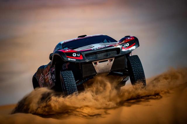 Dakar: premier succès d'étape pour le Liégeois Fabian Lurquin!