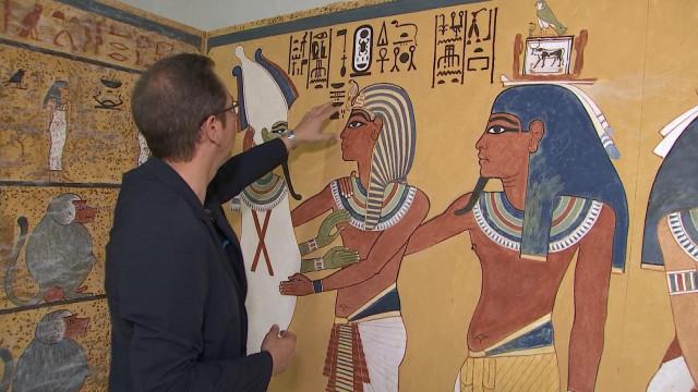 Vous pourrez bientôt découvrir le pharaon oublié