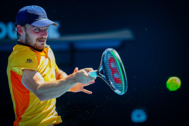 David Goffin en finale à Montpellier