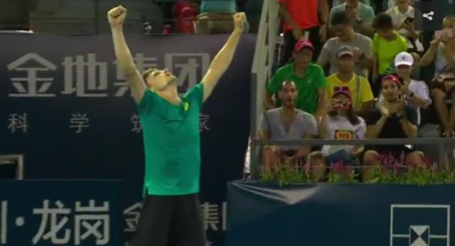 David Goffin en finale au tournoi de Tokyo