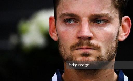 David Goffin perd une place au classement ATP