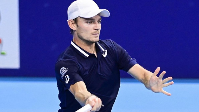 David Goffin se qualifie pour les demi-finales à Antalya