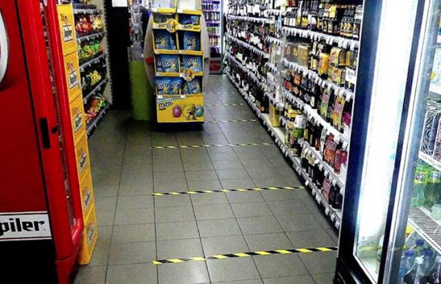 De nouvelles mesures dans les magasins
