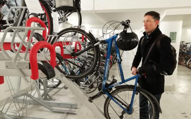De nouvelles places de parking vélo à la gare des Guillemins