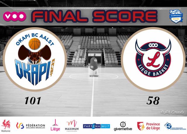 Début de compétition difficile pour Liège Basket