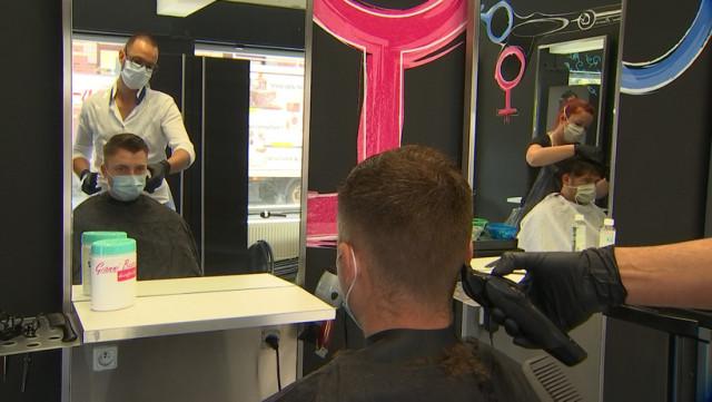 Déconfinement: retour chez le coiffeur !