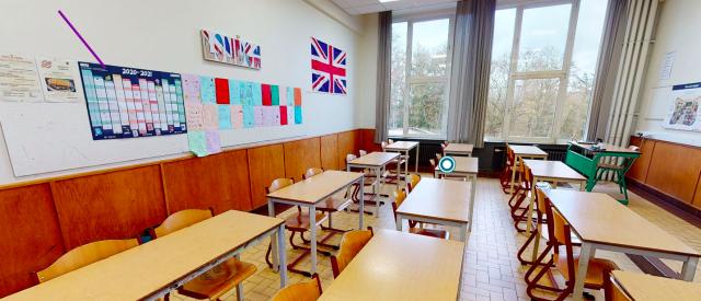 Découvrir sa future école en virtuel ? Pari relevé à Embourg