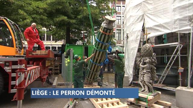 Démontage du Perron pour travaux de rénovation